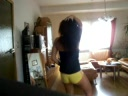 Hot Asian booty dancing