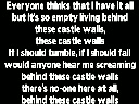 castle walls song